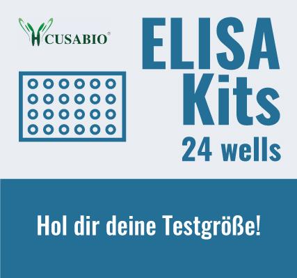 ELISA Kits Testgrößen erhältlich