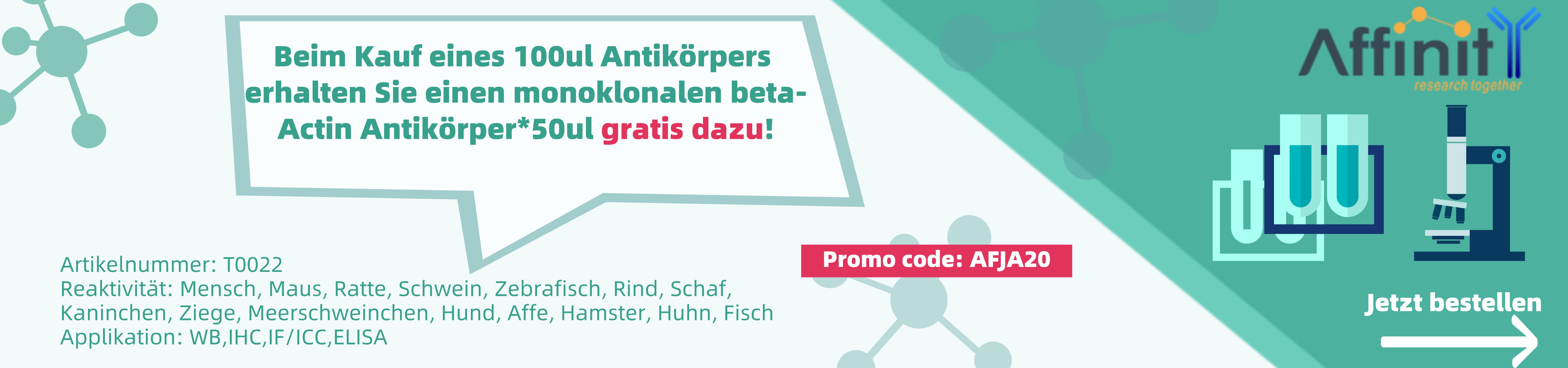 Affinity Biosciences Antikörper Promo